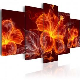 Quadro - Fiery Flowers