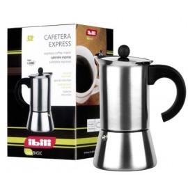 CAFETERA EXPRESS INOX 18/10 2 TAZAS