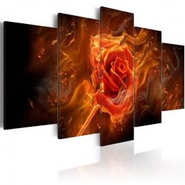 Quadro - Flaming Rose