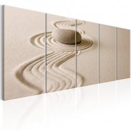 Cuadro - Zen: Sand and Stone