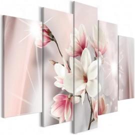 Quadro - Dazzling Magnolias (5 Parts) Wide