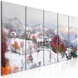 Quadro - First Snow (5 Parts) Narrow