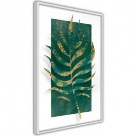 Póster - Gilded Palm Leaf