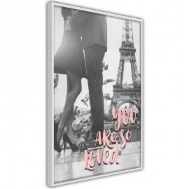 Pôster - Love in Paris