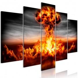 Cuadro - Explosion (5 Parts) Wide