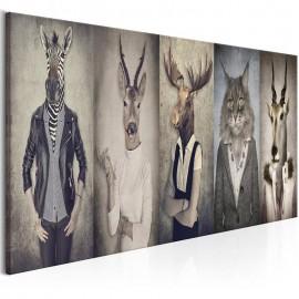 Cuadro - Animal Masks