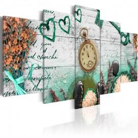 Cuadro - Composición de esmeralda