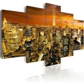 Quadro - New York: amber