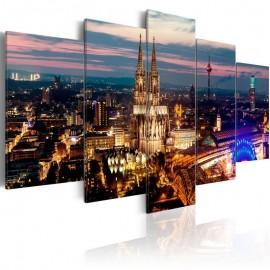 Quadro - Koeln: Night Panorama