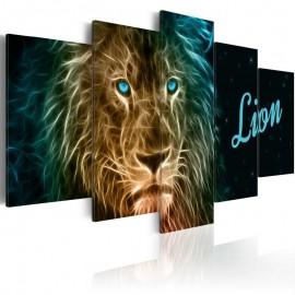 Quadro - Gold lion