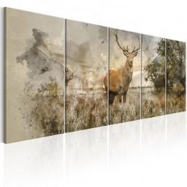 Cuadro - Watercolour Deer I