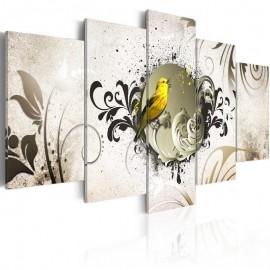 Quadro - Yellow bird