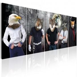 Quadro - Animal Faces