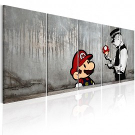 Cuadro - Mario Bros on Concrete