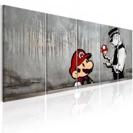 Quadro - Mario Bros on Concrete