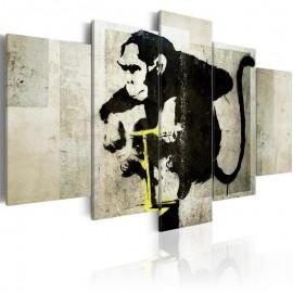 Cuadro - Monkey TNT Detonator (Banksy)