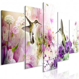 Quadro - Colourful Nature (5 Parts) Wide