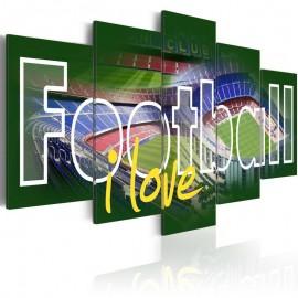 Cuadro - I Love Football
