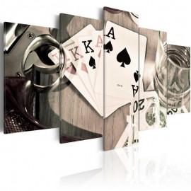 Cuadro - Noche de póker