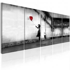 Quadro - Banksy: Runaway Balloon