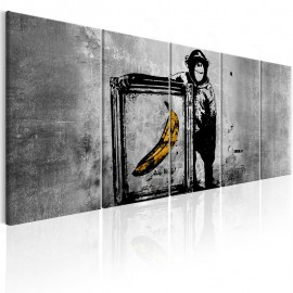 Cuadro - Banksy: Monkey with Frame