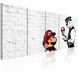 Quadro - Graffiti on Brick
