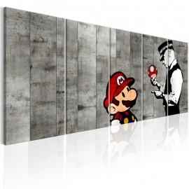 Quadro - Graffiti on Concrete