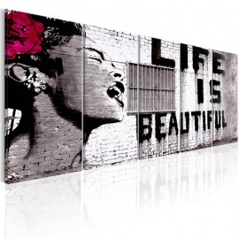 Cuadro - Banksy: Life is Beautiful
