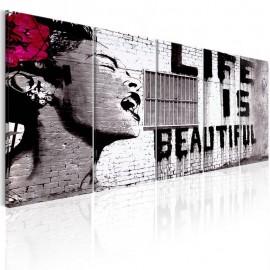 Quadro - Banksy: Life is Beautiful