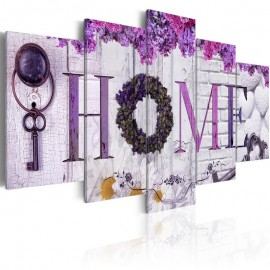 Quadro - Purple House