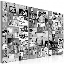 Quadro - Banksy: Graffiti Collage III
