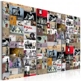 Quadro - Art of Collage: Banksy III