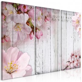 Quadro - Flowers on Boards (3 Parts)