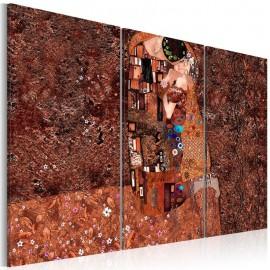 Cuadro - Klimt inspiración - El color del amor