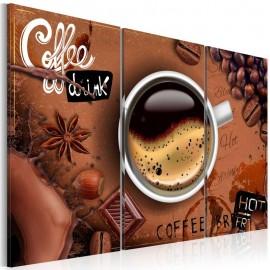 Cuadro - Taza del café caliente