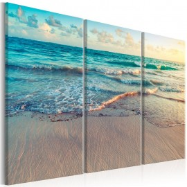 Cuadro - Beach in Punta Cana (3 Parts)