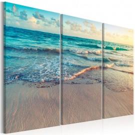 Quadro - Beach in Punta Cana (3 Parts)
