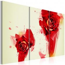 Cuadro - Un nuevo vistazo a la rosa