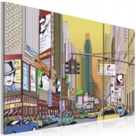 Quadro - Cartoon city