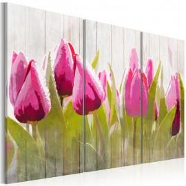 Cuadro - Ramo primaveral de tulipanes