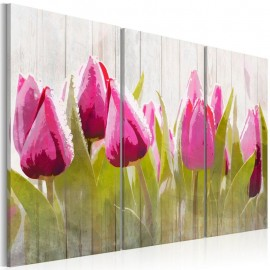 Quadro - Spring bouquet of tulips