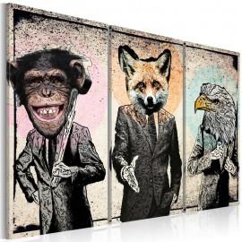 Cuadro - Negocios de los monos