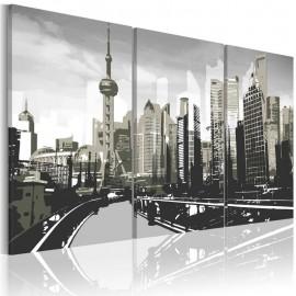 Cuadro - Shanghai gris