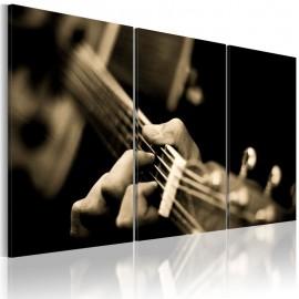 Cuadro - Sonido mágico de una guitarra