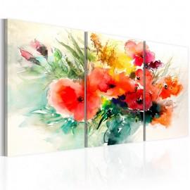 Cuadro - Watercolor Bouquet