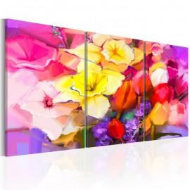 Quadro - Rainbow Bouquet