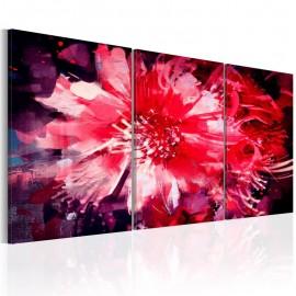 Cuadro - Crimson Flowers