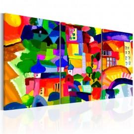Cuadro - Colourful Town