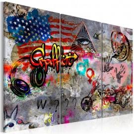 Cuadro - American Graffiti