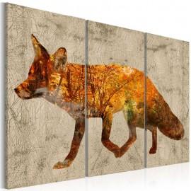 Cuadro - Fox in The Wood